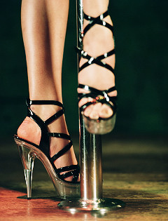 Myth #1: They don't all wear glass heels