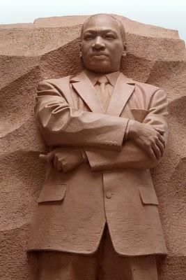 MLK STONE STATUE