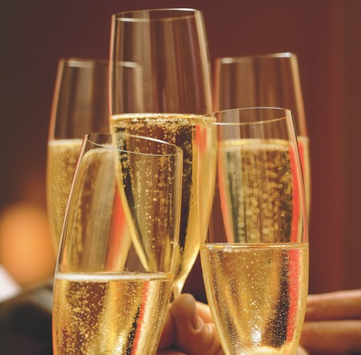 There's always that person who fills their champagne glass up to the brim in a crowded room.  *Rolls Eyes*