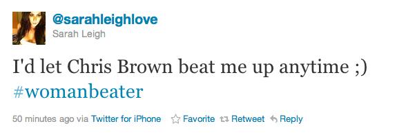 Chris Brown Beat Me1