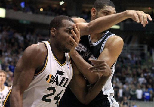 Paul Millsap, Tim Duncan