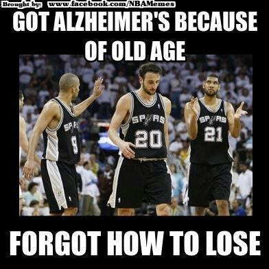 Spurs Forgot How To Lose