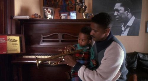 One of my favorite stills from the movie, Mo Better Blues.