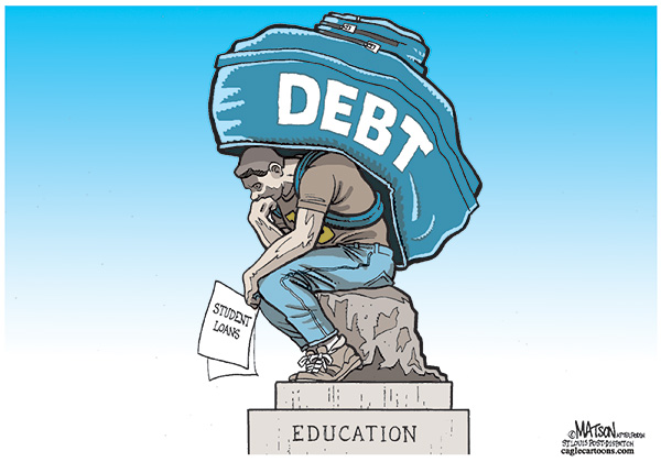 The sad, unspoken reality of pursuing higher education.