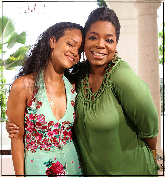 rihanna interview with oprah
