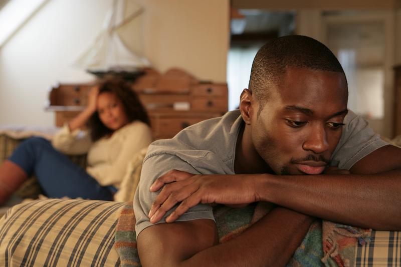 unhappy-black man