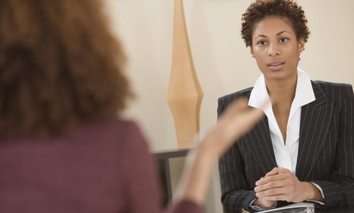 black-woman-job-interview