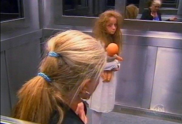elevator ghost prank