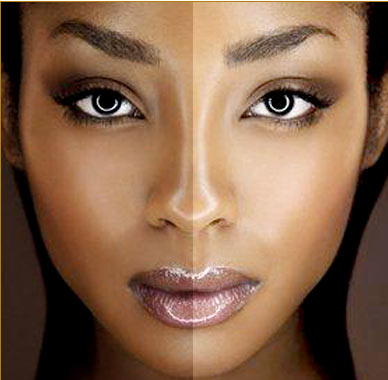 light skin vs dark skin