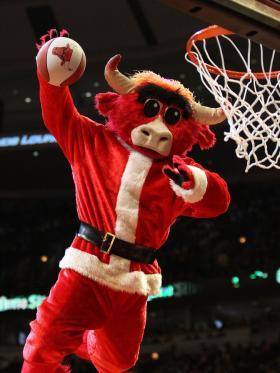 Bulls Christmas