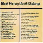 SBM Is Taking on the Black History Month Challenge on Facebook!