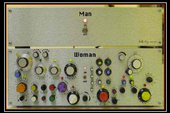 I'm not saying women are more complicated but...