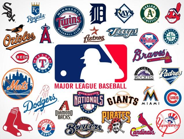 2013 MLB Logos