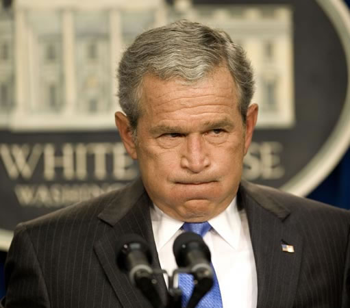 George_Bush_Holding_Breath