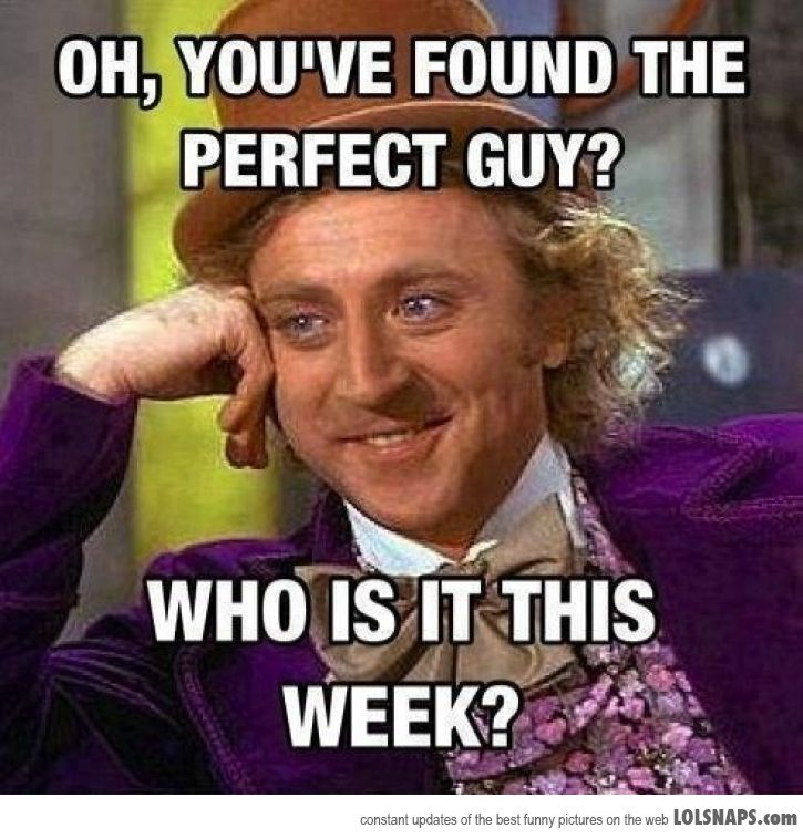 finding the perfect guy