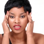 black-woman-short-hair-upset