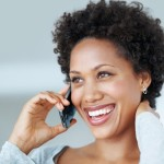 black-woman-on-phone