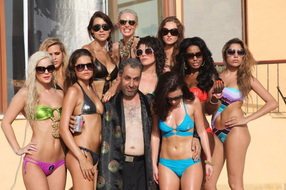 man surrounded by women2