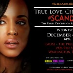 TONIGHT: True Love, Cheating & #Scandal: The Panel Discussion & Social Mixer