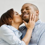 African-American-Couple-Kissing