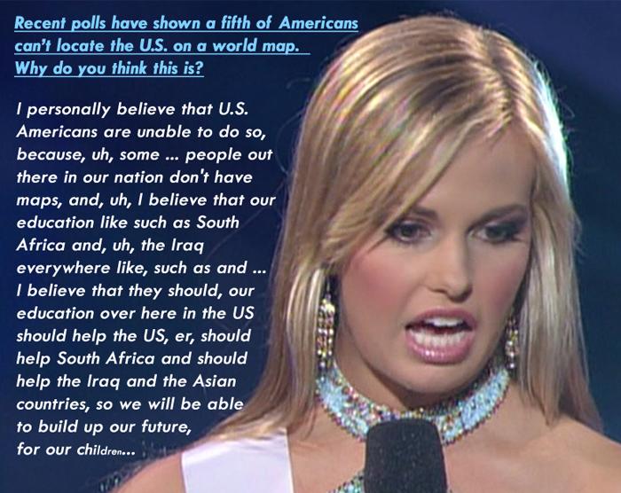Miss Teen USA 2007 Ms. South Carolina Caitlin Upton