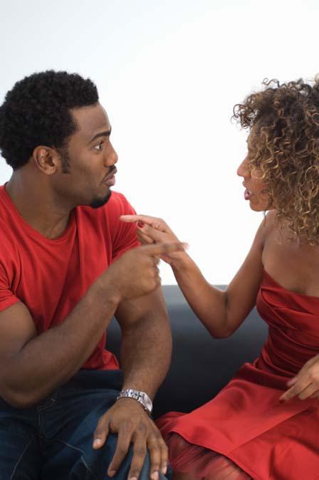 Regret, that Black couple arguing