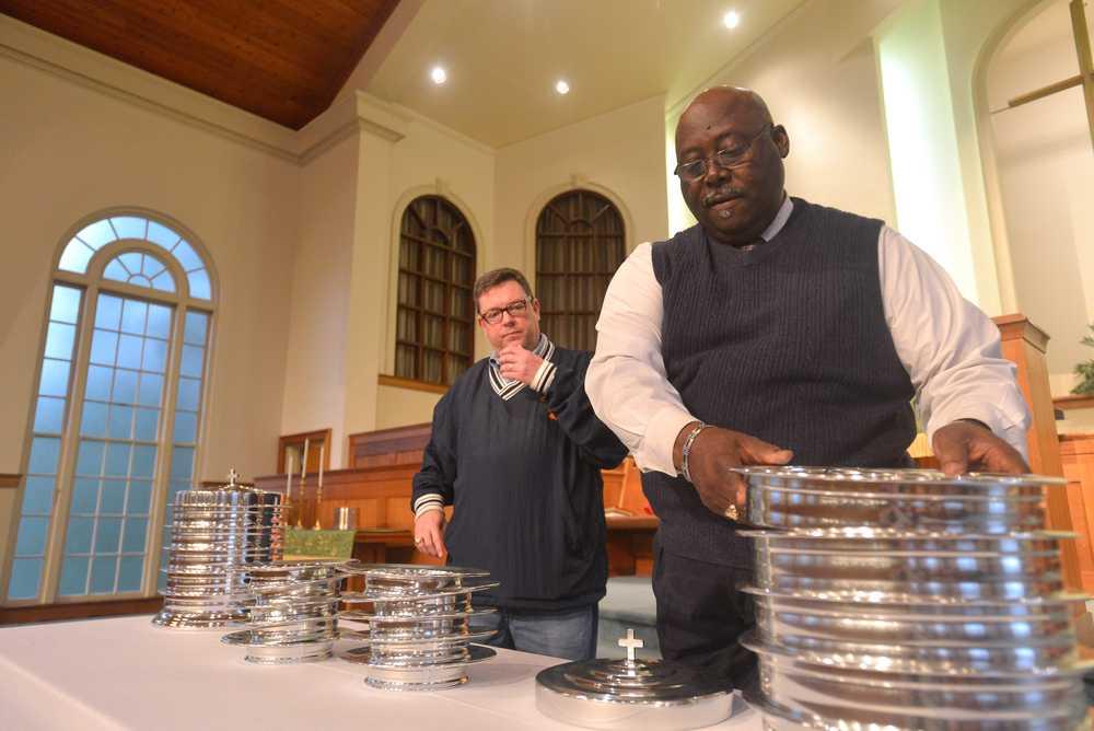 mixed church congregation