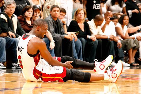 Boston Celtics v Miami Heat, Game 3