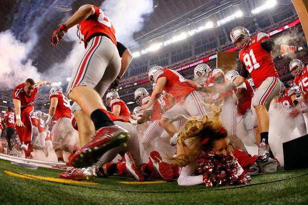 Ohio State football trample
